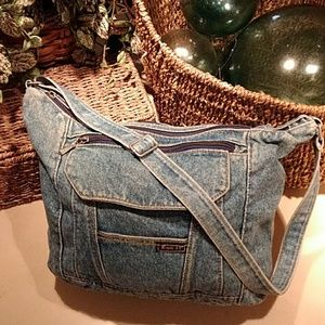 Rt 66 denim purse